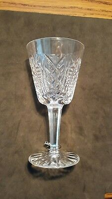 Waterford Crystal Glasses Set Of Six Clare Pattern