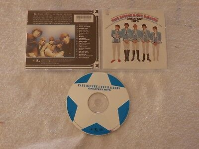 Paul Revere & The Raiders: Greatest Hits CD, Classic Rock, RARE, OUT OF PRINT