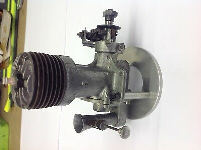 Old model airplane engine Atwood champion spark