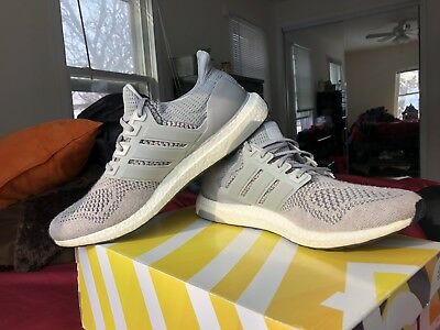 9abf3137db2 Adidas Ultra Boost 1.0 Wool Grey S77510 Rare 100% Authentic Size 12 Mens