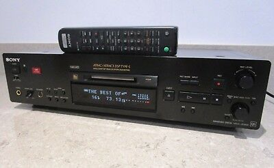 Sony MDS-JB980 QS Net MD minidisc recorder/player & remote in superb condition