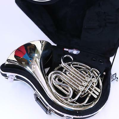 Holton Model H379 Nickel Silver Double French Horn DISPLAY MODEL