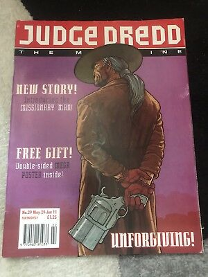 judge dredd the megazine Issue 29 Good Condition