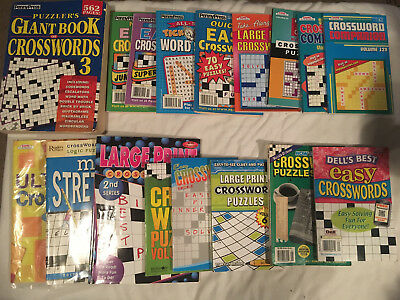 Lot CROSSWORD Herald Tribute PENNYPRESS Bendon KAPPA Dell Lot of 19