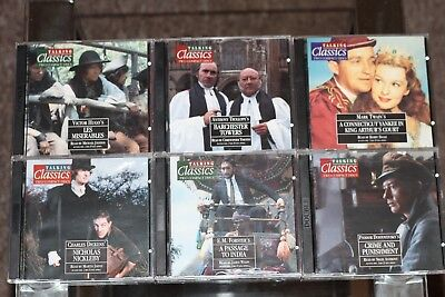 TALKING CLASSICS ~  SET OF  51 TITLES ~ ON CD double CDS Fantastic Set