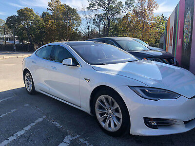 2016 Tesla Model S  2016 Model S70 Pearl White Good condition with premium upgrades