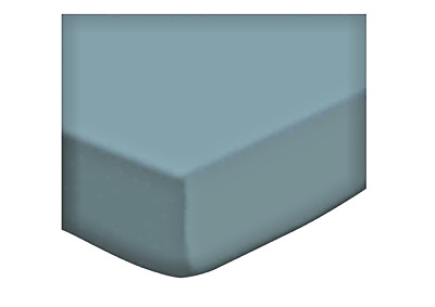 SheetWorld Fitted Portable / Mini Crib Sheet - Solid Teal Woven - Made In USA