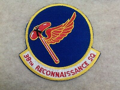 U.s.a.f...38Th Reconnaissance Squadron. New, 80's-90's, Authentic, Rc-135