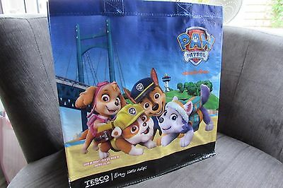 Tesco Nickelodeon Paw Patrol Tote Shopper Bag new