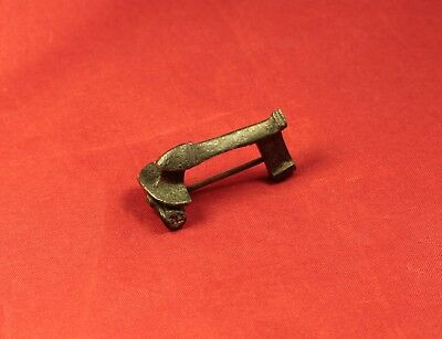 Fine Ancient Roman Phallus Fibula or Brooch, 2. Century