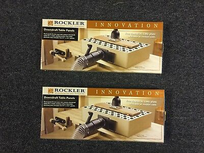 NIB 2 Sets of Rockler Downdraft Table Panels for Dust Collection/Sanding