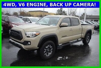 2017 Toyota Tacoma TRD Offroad 2017 TRD Offroad Used 3.5L V6 24V Automatic 4WD Pickup Truck Premium