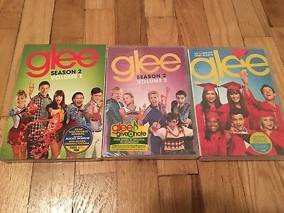 Glee: Season 2, Vol. 1 & 2 and Season 3 DVD BRAND NEW - Free Shipping!