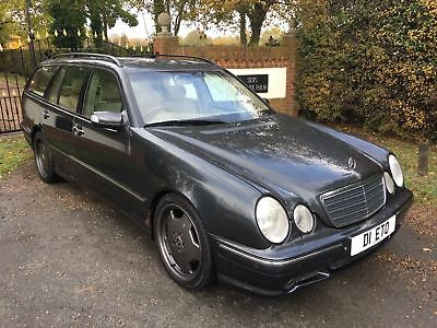 2000 E430 Estate Car. E55 AMG Body Kit and staggered wheels 64k Miles .RARE CAR