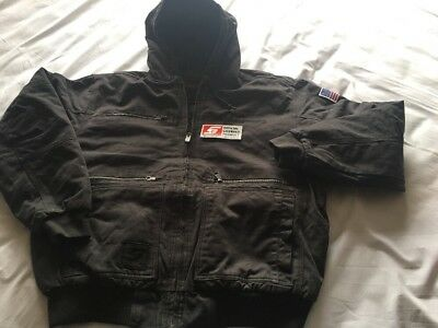 Snap On Heavy Weight Hooded Canvas Jacket. XXL. New. Delivered 2018