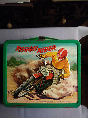 Rough Riders Vintage Lunchbox No Thermos