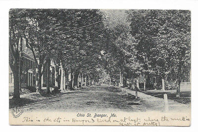 1908 Green Lake, Maine DPO Canceled Postcard