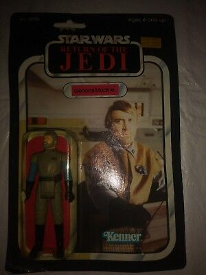Vintage Star Wars Return Of The Jedi General Madine Kenner 1983 in Box