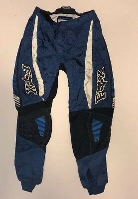 Fox racing 180 pants. Blue and Black. Size 32.