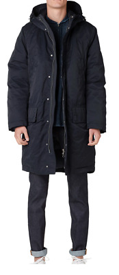"""**AWESOME** ACNE Studios  Mens """"MONTREAL"""" AW15 Duck Down Parka Coat 48 MEDIUM"""