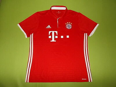 Shirt BAYERN MUNICH (XL) ADIDAS #10 2016/2017 PERFECT !!! Trikot home