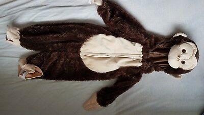 Monkey outfit costume kids fancy dress 18 month - 2 year old + boys or girls