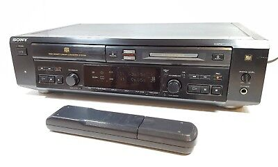 SONY MXD-D3 Combination CD Player with Minidisc Recorder - remote