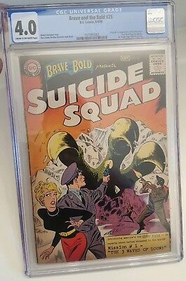 Brave and the bold 25 origin and first full apperance of the suicide squad KEY!