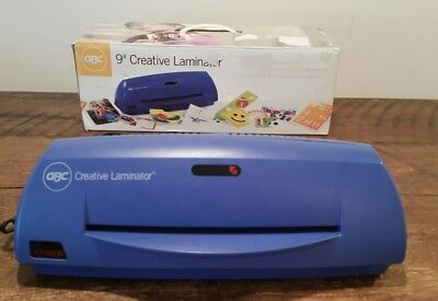 """GBC 9"""" Creative Laminator Great for Home, School or Small Office ~ Pre-Owned"""