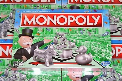 Monopoly The Classic Edition Traditional Family Fun Board Game