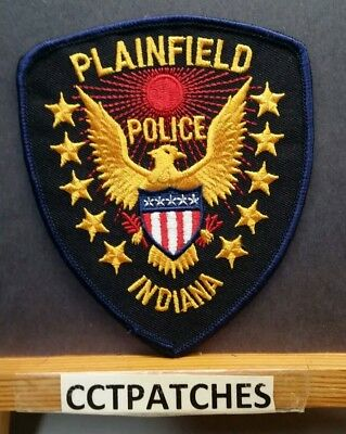 Plainfield, Indiana Police Shoulder Patch In