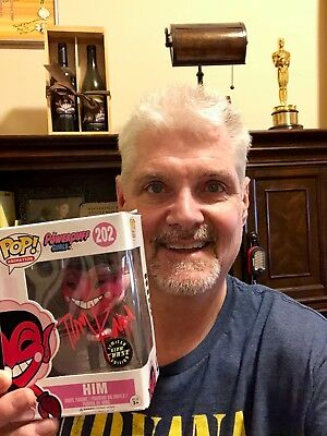 "Signed Funko Pop! Powerpuff Girls ""HIM"" PLUS Pic - AUTOGRAPHED by Tom Kane!"