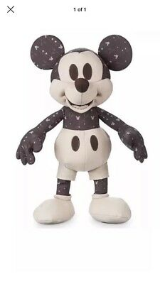 Disney Store Mickey Mouse Memories November Plush Limited Edition BNWT