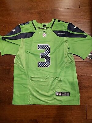 1c1d82b34 RUSSELL WILSON COLOR Rush Legend Jersey SEALED Seattle Seahawks Nike ...