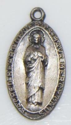 Our Lady of Mount Carmel & Sacred Heart of Jesus Pray for Us Holy Medal Irish