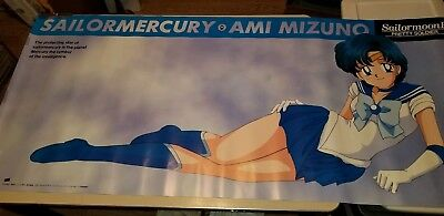 Sailor Moon R SAILOR Mercury Horizonal Life Size Poster Officially Licensed item