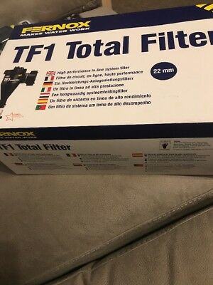 Fernox Tf1 Total Magnetic Filter 22Mm Central Heating