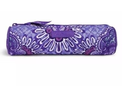 NWT Vera Bradley ON A ROLL CASE IN LILAC TAPESTRY