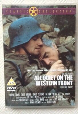 All Quiet On The Western Front Donald Pleasence Ian Holm Classic War Movie DVD