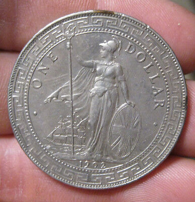Great Britain - 1902-B Large Silver Trade Dollar