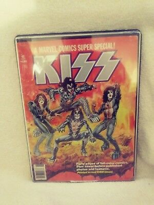 Kiss 1977 Destroyer Comic Book (Marvel) Stan Lee.Real Kiss Blood in the Ink!