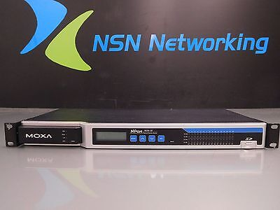 Moxa NPort 6650 6650-32 32-Port RS-232/422/485 Secure Device Server