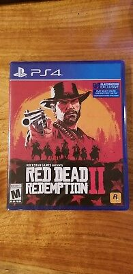 PS4 Red Dead Redemption 2 - NEW SEALED