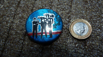 VINTAGE 1970s/80s THE JAM BADGE MODS PUNK NEW WAVE BADGE PIN