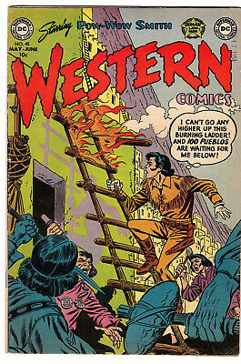 Western Comics # 45 (DC, 1954) Pow Wow Smith and Wyoming Kid Infantino F
