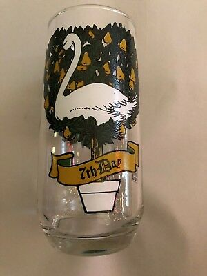 12 days of christmas pepsi glass 7th day""