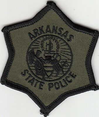 Arkansas State Police Subdued Swat Patch Ar