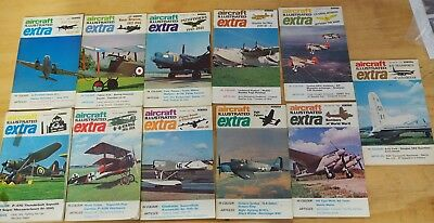 Aircraft Illustrated Extra magazines 11 issues nos 6,7,8,9,10,11,12,13,14,15,16