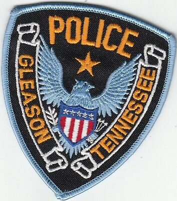 Gleason Tennessee Police Patch Tn