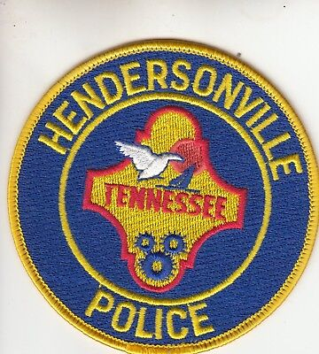 Hendersonville Tennessee Police Patch Tn